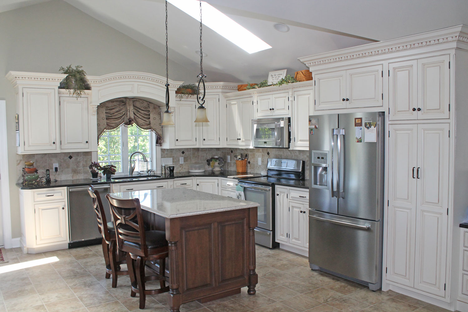 Custom kitchen cabinets in narvon pa twin valley Custom kitchens pictures