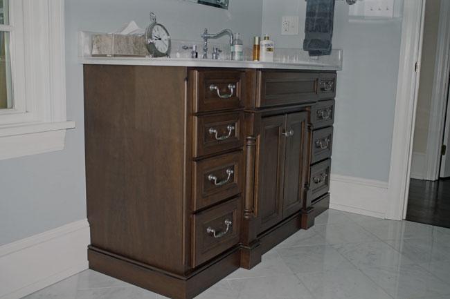 Custom Bathroom Vanities Saskatoon custom bathroom cabinets.fine custom bathroom cabinetry. dark