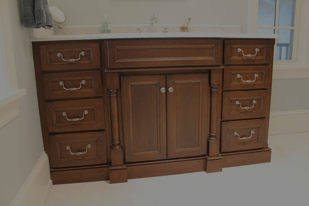 Custom bathroom cabinets in narvon pa for Custom bathroom cabinets